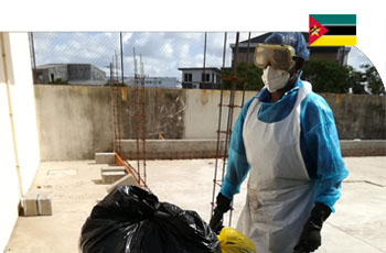 The SIRSU project for the sterilization of hospital waste in Beira